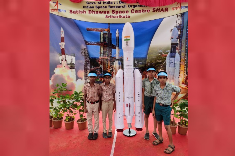 TN corporation school kids excited to get a letter from ISRO chairman