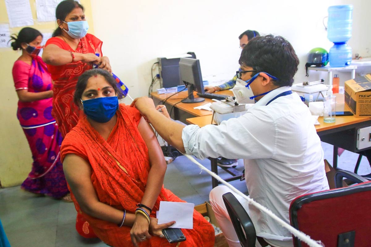 12 cr vaccine doses in June for states UTs Union govt to release buffer stocks