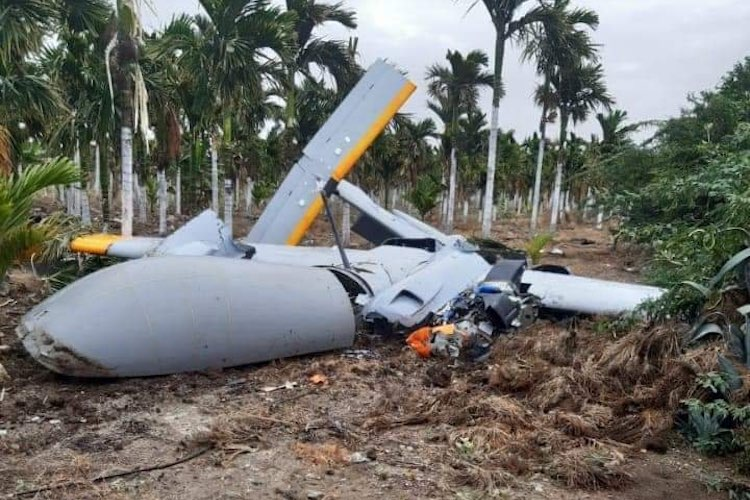 DRDO's unmanned aerial vehicle crashes in Karnataka, no casualties reported