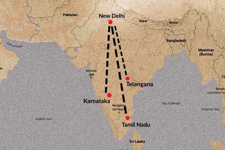 How a Jamaat meeting links COVID-19 cases in TN Telangana and Delhi