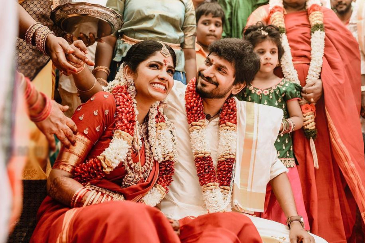 Kannum Kannum Kollaiyadithaal director Desingh gets married to actor Niranjani