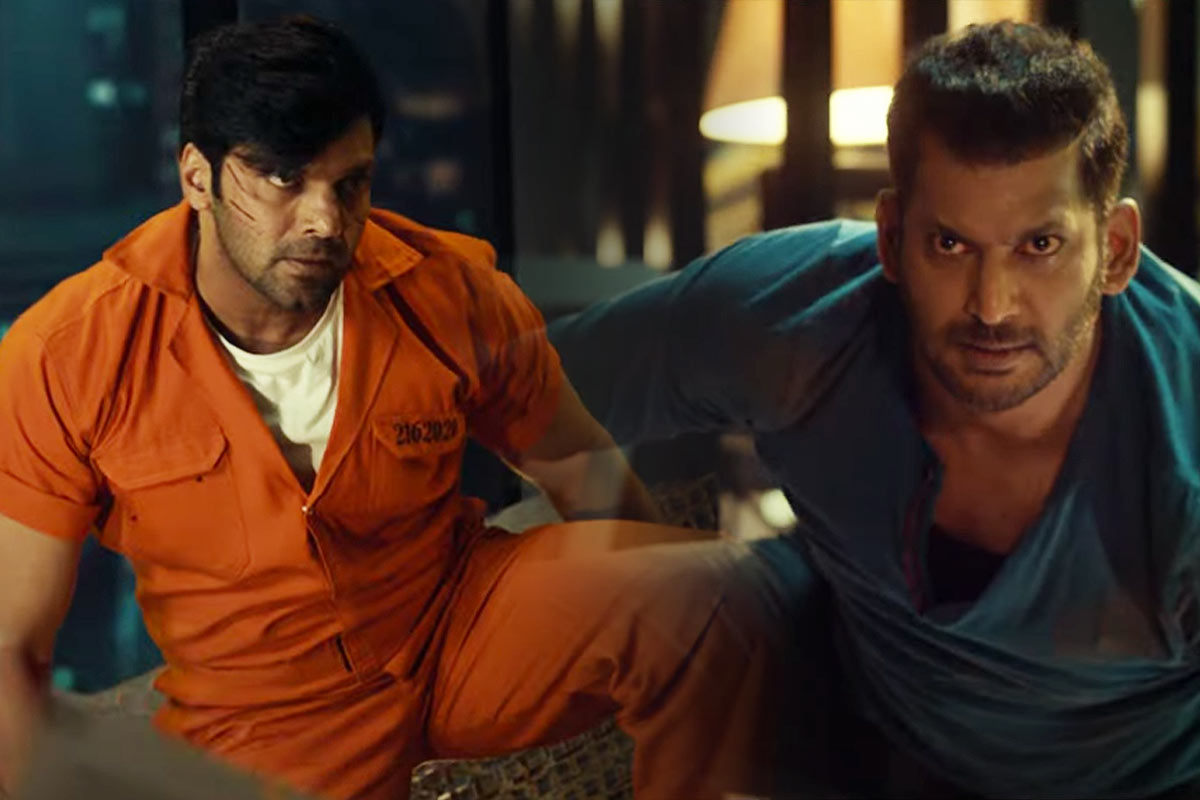 Watch Teaser of Vishal and Arya starrer Enemy is power-packed