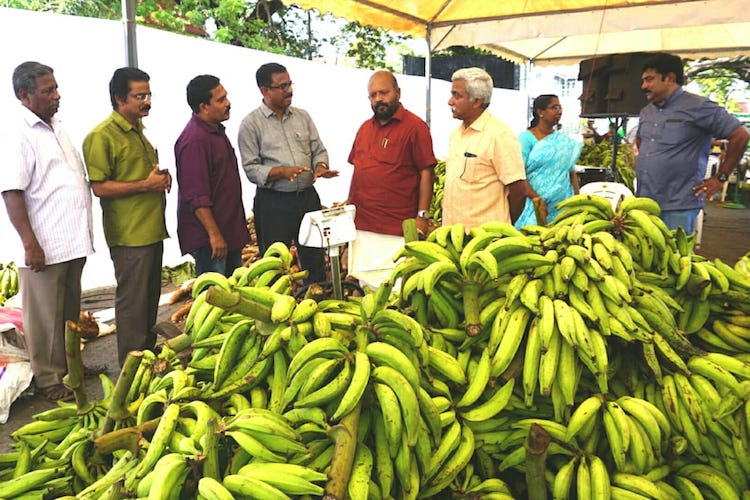 Kerala Agricultural Officers Assoc holds fair to help flood-hit farmers sell products