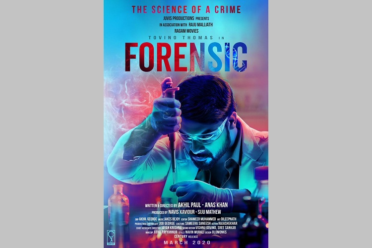 Tovino Thomas's 'Forensic' first look out