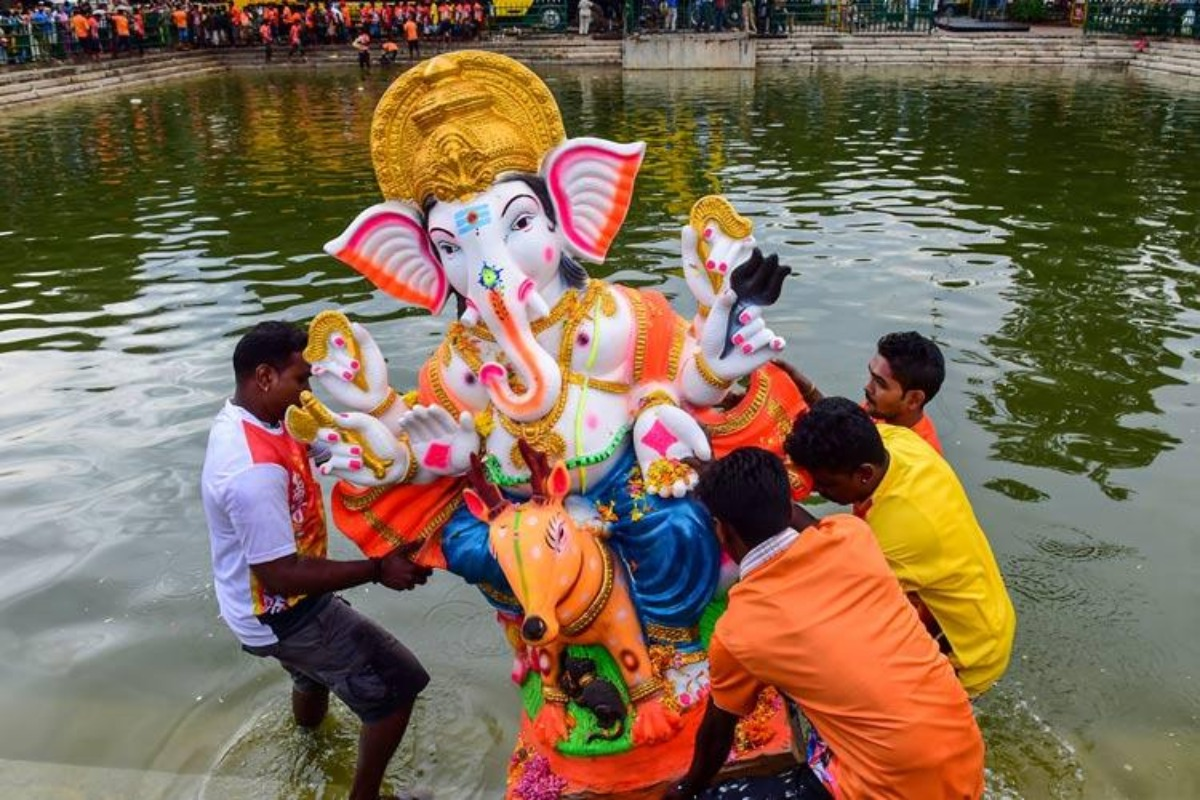 Celebrate Vinayakar Chathurthi at home TN bans processions and idols in public places