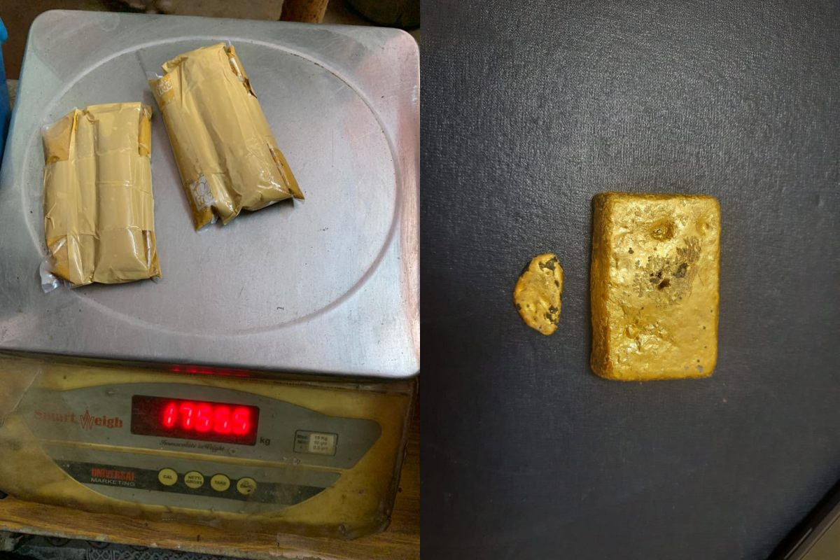 Woman nabbed at Hyderabad Airport for smuggling 1.6 kg gold in paste form