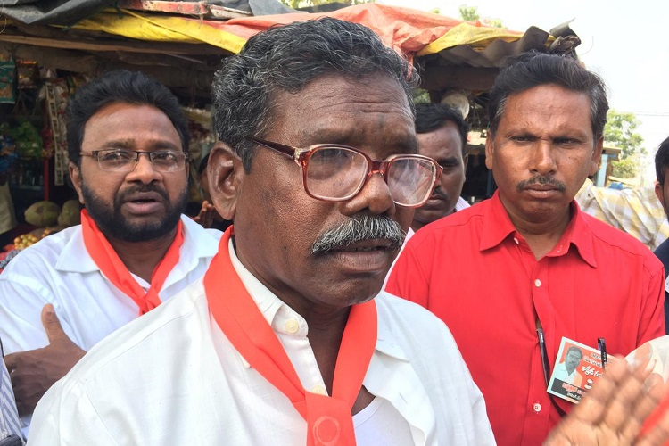 A meeting with Narsaiah, 5-time MLA and CPI (ML)'s only hope in Telangana