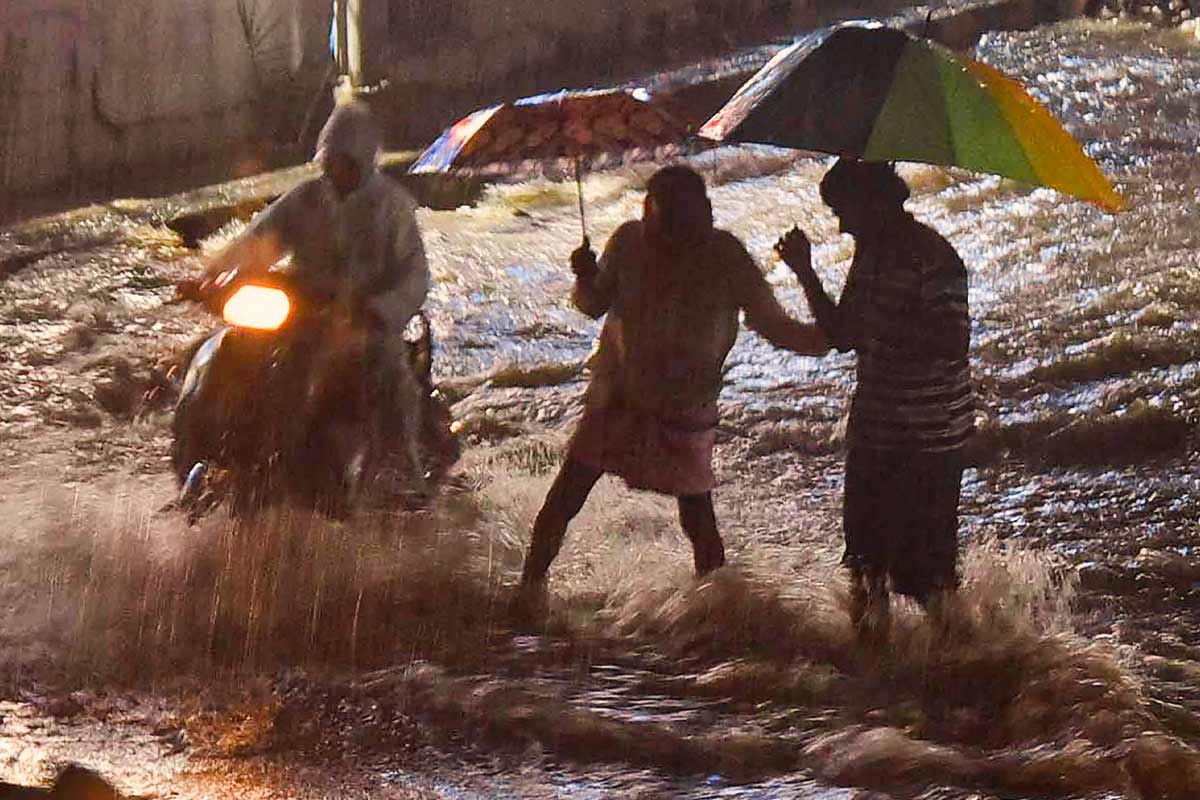 IMD issues orange alert in Telangana for Monday and Tuesday