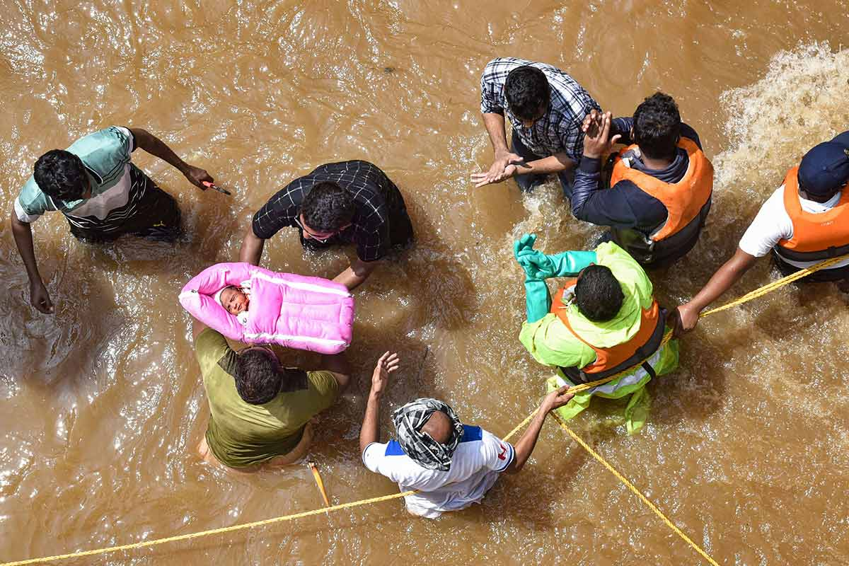 33 people killed three missing in Hyderabad due to floods Minister KTR