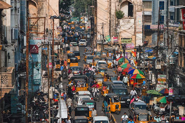 Despite metro rail, vehicles registered in Hyderabad continue to rise