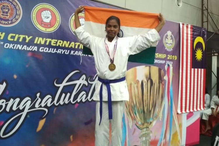 'Dad made sure I went for contests even if he had to borrow money': Karate kid Ilakkiya