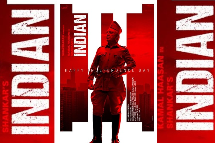 Senapathy strikes a pose in new poster from Kamal's 'Indian 2'