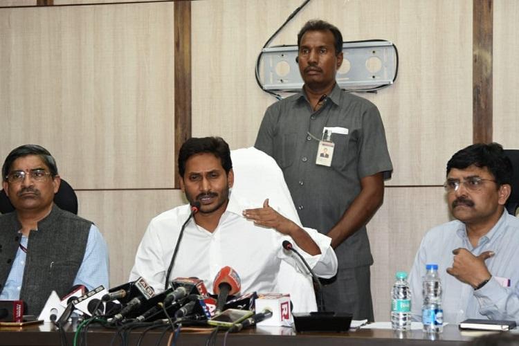 Amaravati lands a major scam, Naidu resorted to 'insider trading': Jagan