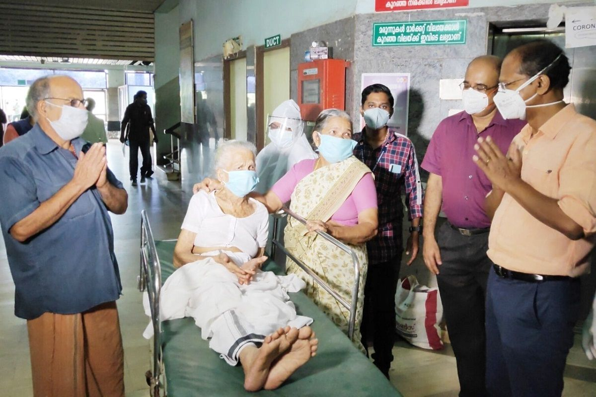 104-year-old Kerala woman recovers from COVID-19