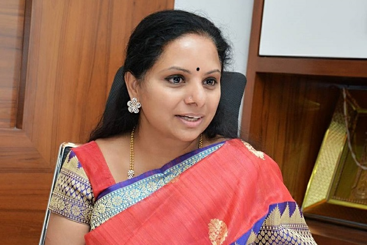 TDP chief Naidu losing in Andhra, so posing as national leader: TRS MP Kavitha
