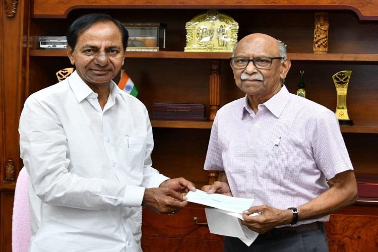 Gov staff donates Rs 48 crore, Satya Nadella's family Rs 2 crore to Telangana CM fund - The News Minute thumbnail