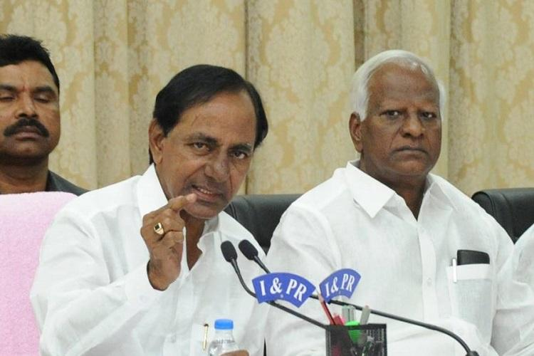 What comment of CM KCR made AP people shocked??