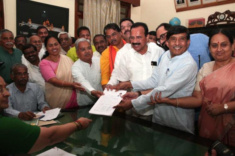 Ex-Congress MP from Karnataka gets re-elected to Rajya Sabha on BJP ticket