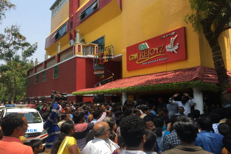 Hundreds line up in Bengaluru for a chance to act in 'KGF 2' with Yash