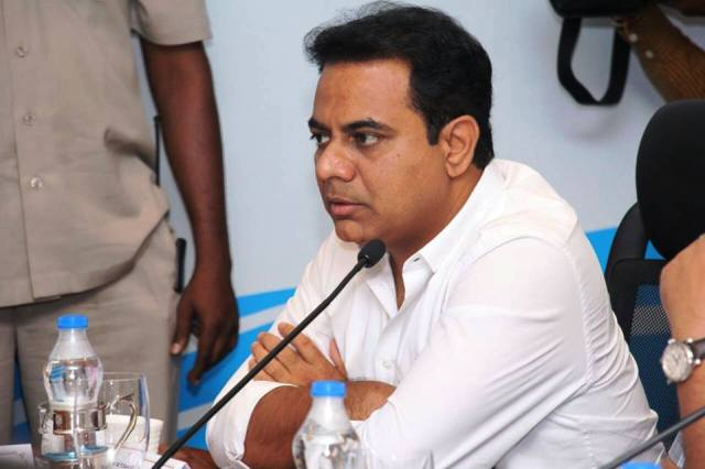 Will KTR restrict use of mobile phones in his meetings?