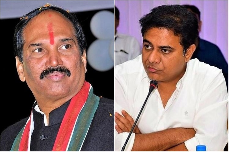 Telangana polls: War of words between Congress and TRS over security for EVMs