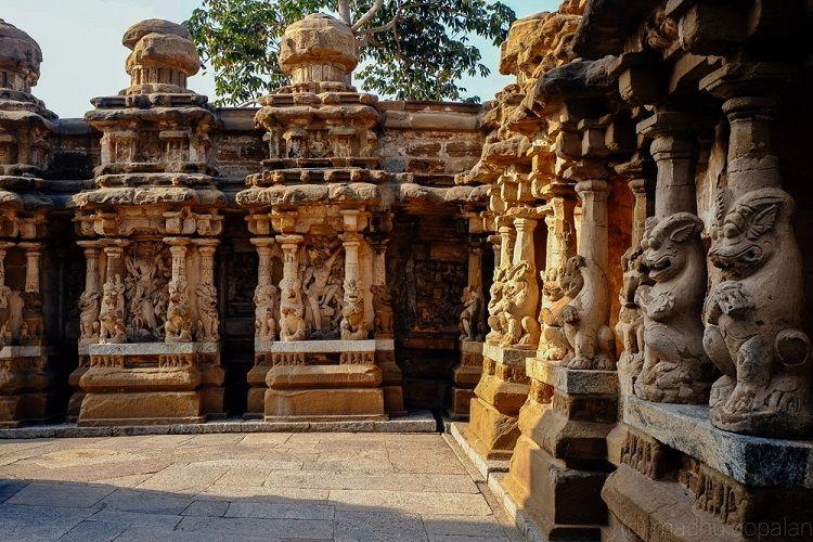 photo essay  the kailasanathar temple