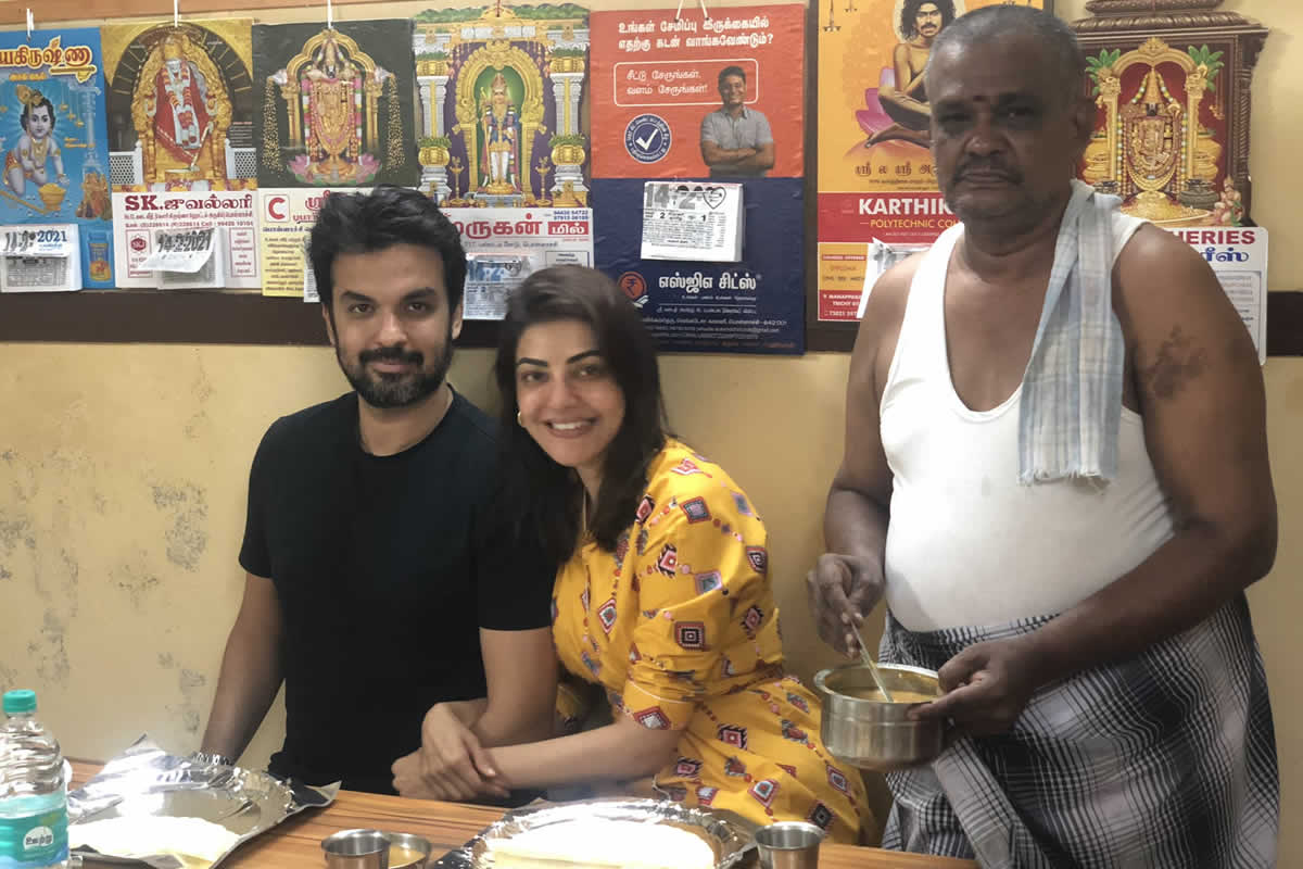Kajal Aggarwal shares photos from simple Valentine's Day dinner at Pollachi mess - The News Minute