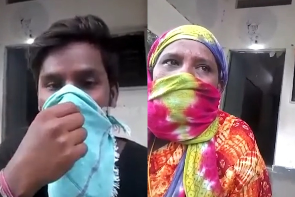 For three days mother and son stranded at bus stop as Telangana village denies entry