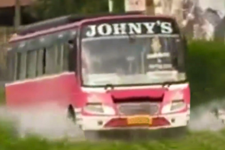 Kerala cops 'arrest' a bus named Johny, watch the video to know why