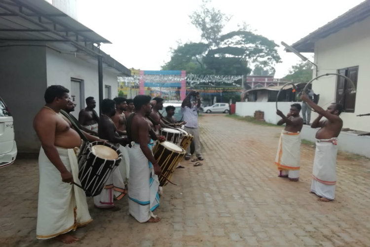 After six months of no work, flood-hit Kerala drummers find their way back to music