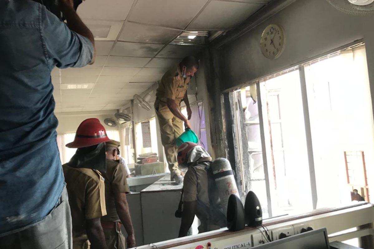 Kerala govt to approach PCI against media reports on Secretariat fire