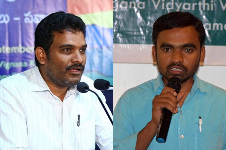 Telangana police arrest TVV chief Maddileti, TPF V-P Krishna for alleged Maoist links