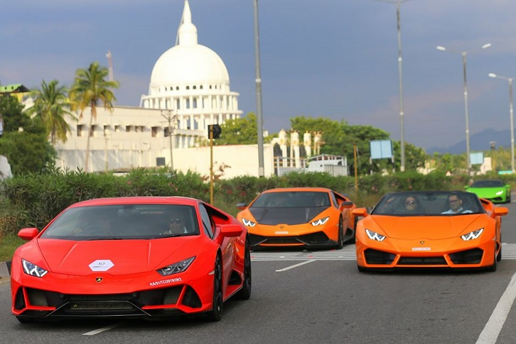 Over 50% of Lamborghini sales in India come from 3 major cities in the south