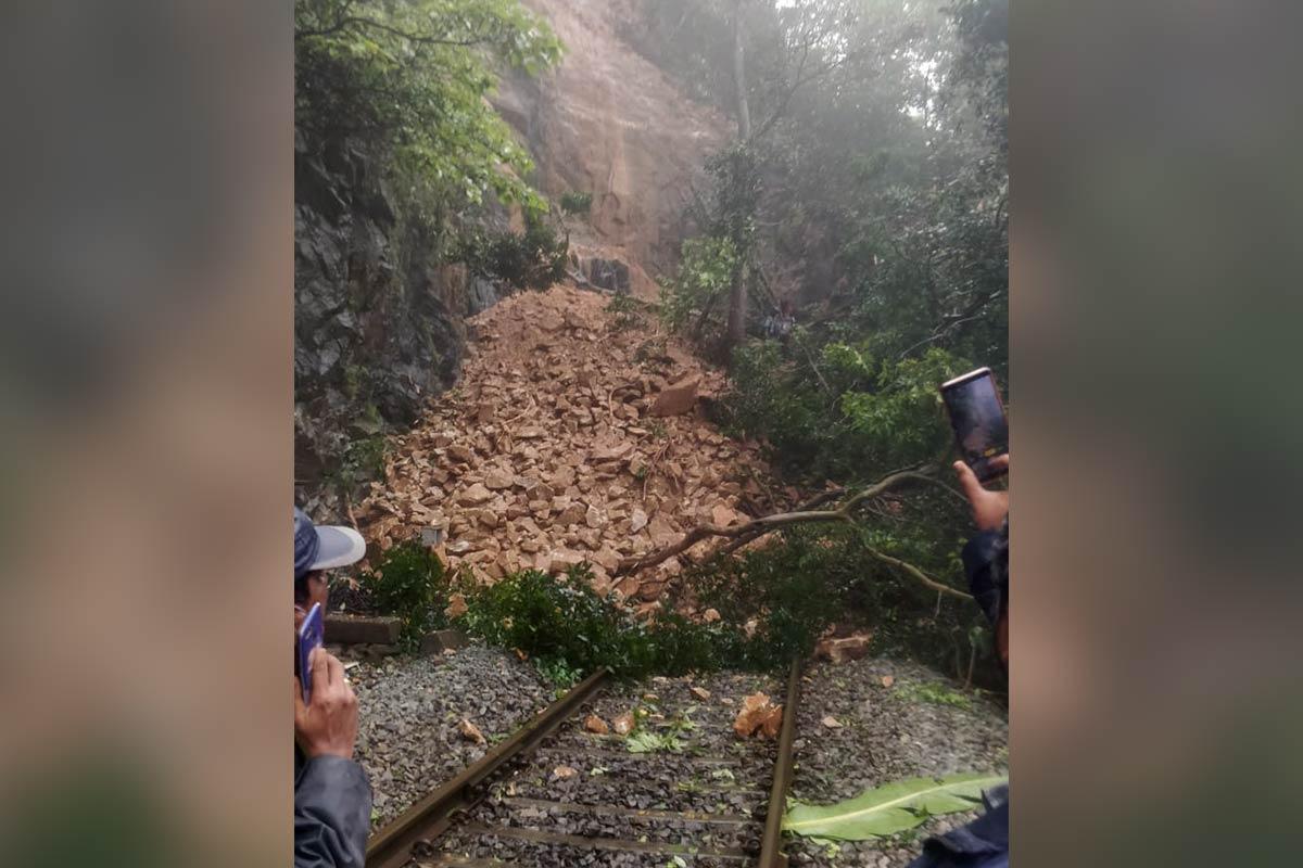 Railway service partially affected due to heavy rains landslides in Karnataka