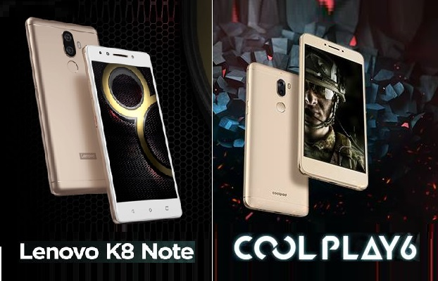 Coolpad Cool Pay 6 vs Lenovo K8 Note: How do they stack up? Here's