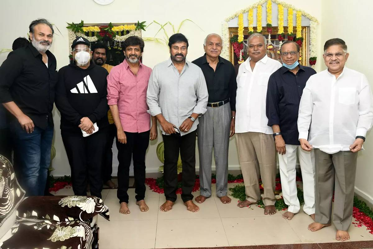 Telugu remake of 'Lucifer' starring Chiranjeevi launched