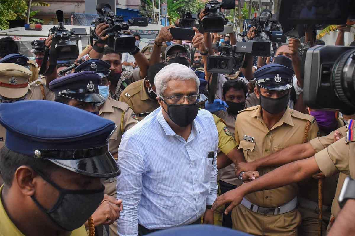 Kerala IAS officer Sivasankar taken into ED custody as HC rejects pre-arrest bail plea