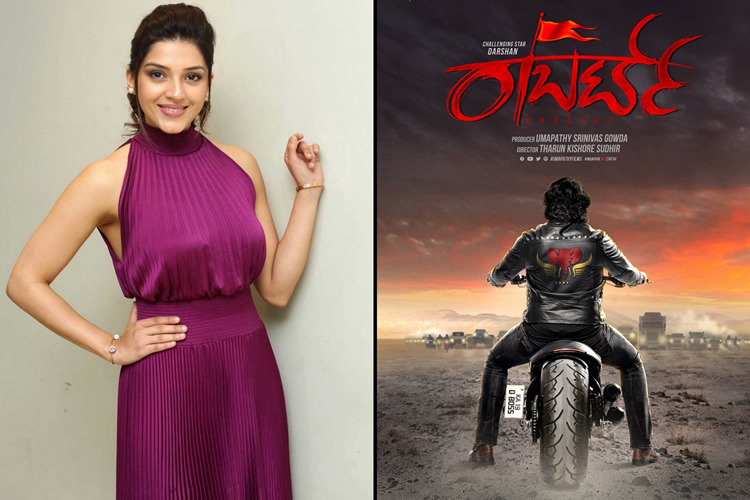 Mehreen Pirzada to star opposite Darshan in 'Roberrt'?