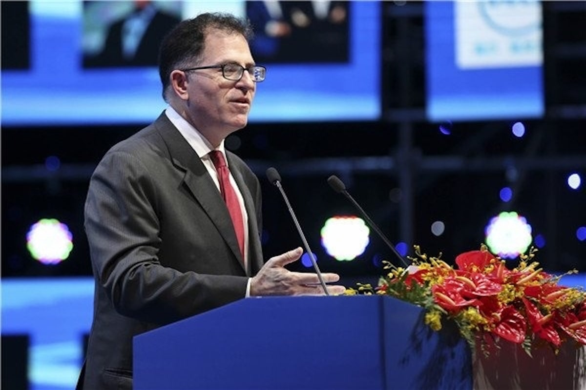 75 of data to be processed outside of data centre or cloud by 2025 Michael Dell