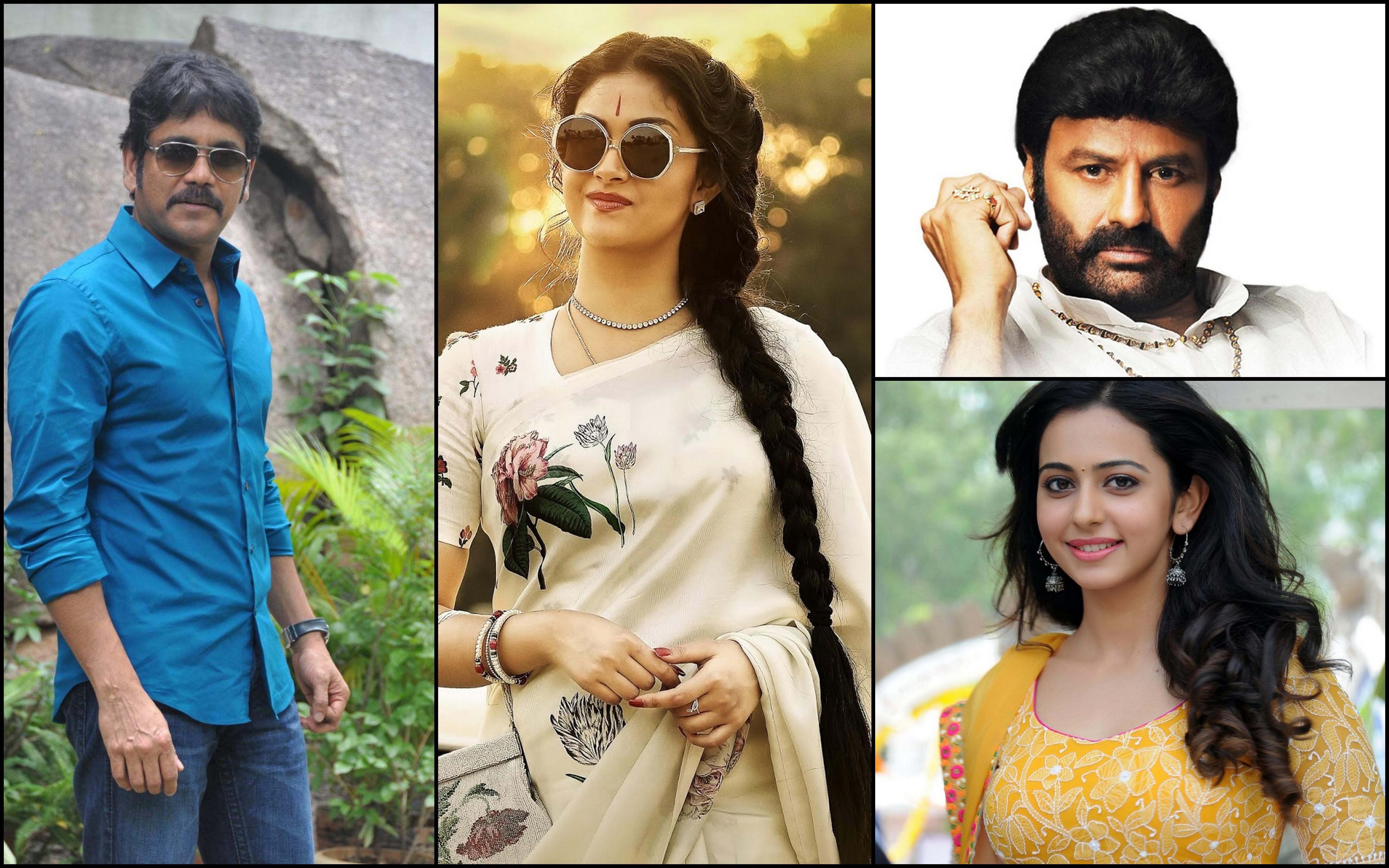 Balakrishna, Nagarjuna and Keerthy Suresh among TSR-TV9 film award winners
