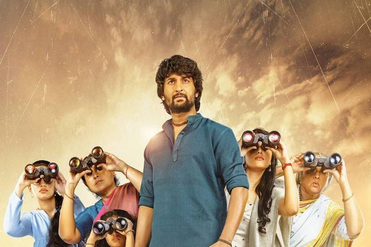 'Gang Leader' review: Nani's heist comedy is wacky and entertaining