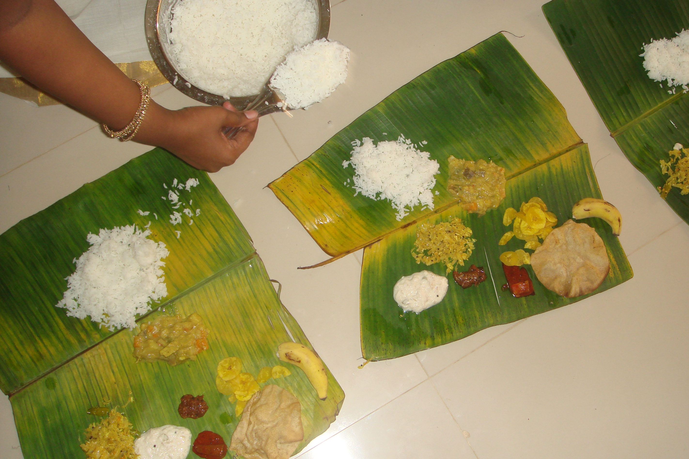 For People Outside Kerala A Guide To The Onam Sadya And