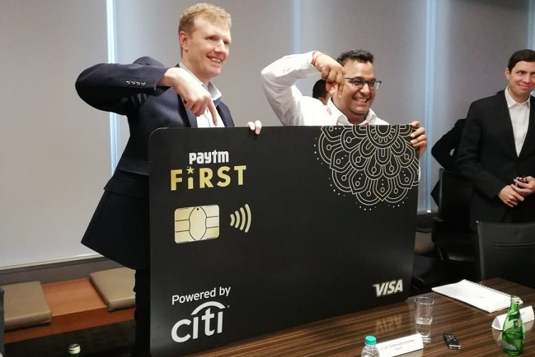 Paytm partners with Citi to launch credit card with 1% universal unlimited cashback