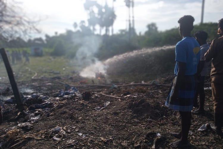 Blast at firecracker unit in Puducherry leaves three dead, 2 injured
