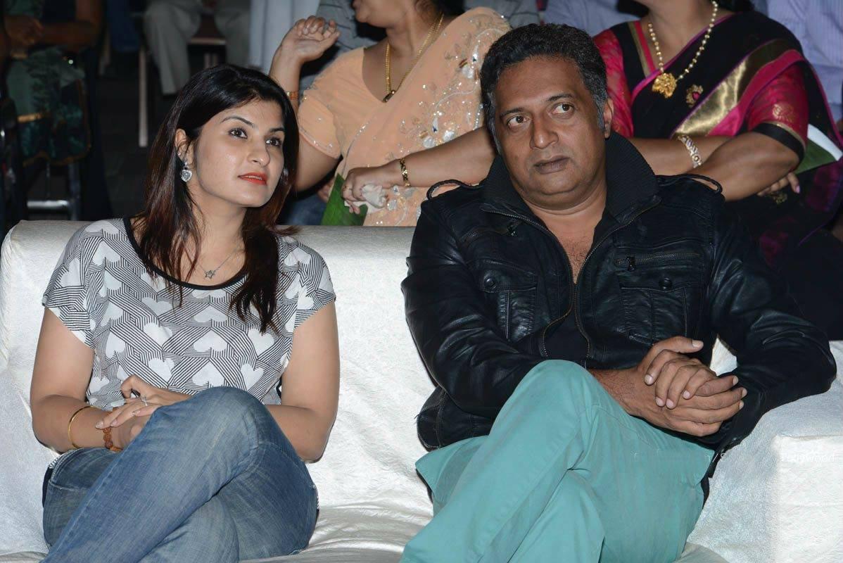 Actor Prakash Raj, wif...