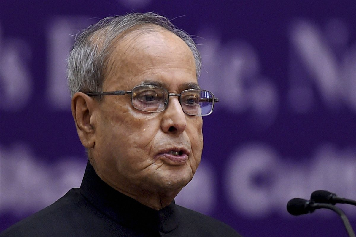 Former President Pranab Mukherjee tests positive for coronavirus
