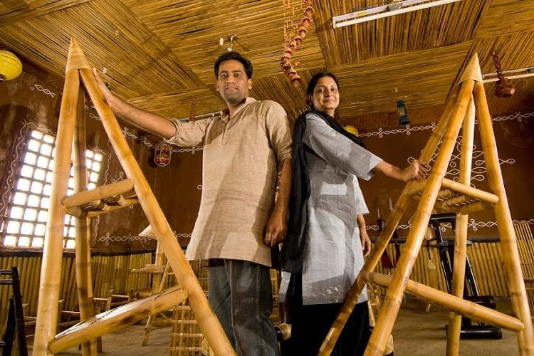 Bend It Like Bamboo Meet The Hyderabad Couple Building