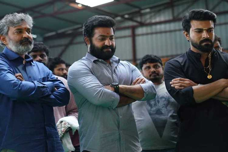 'RRR' team waiting for SS Rajamouli's return