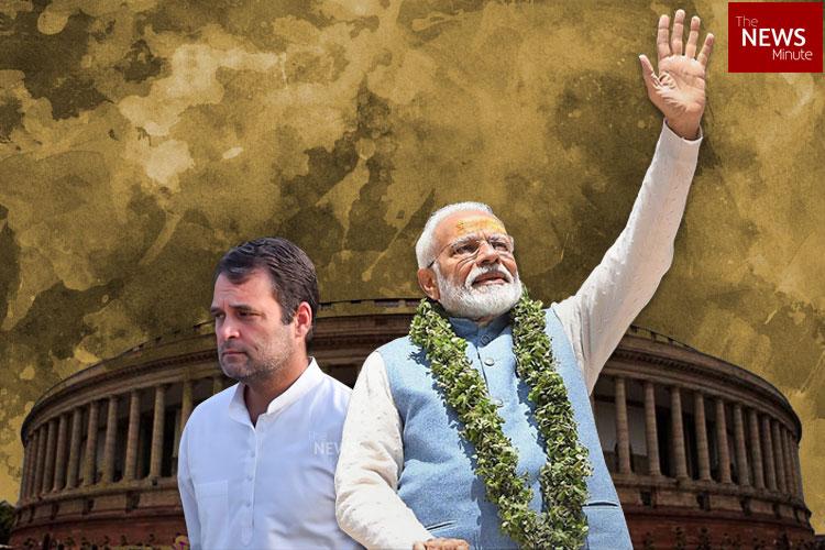BJP crosses 300 in Lok Sabha, Congress eats humble pie: Full details of results