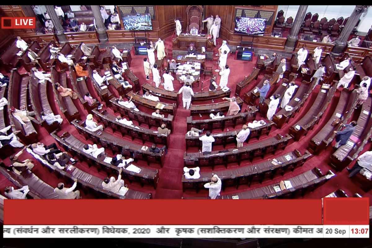 संसद कृषि बिल पास